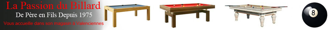 logo La Passion du Billard