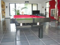 Billard Contemporain Billard Table Contemporain Arcade Americain Francais Chene Teinte Ebene
