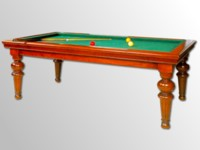 Billard Lafuge Billard Louis Philippe Chene Massif Transformable Table Francais Americain