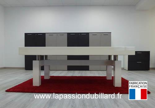 Billard table billard haut de gamme arcade pietement - Billard moderne ...