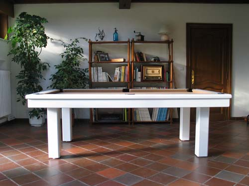 Billard table, Billard americain transformable en table modele Loft ...