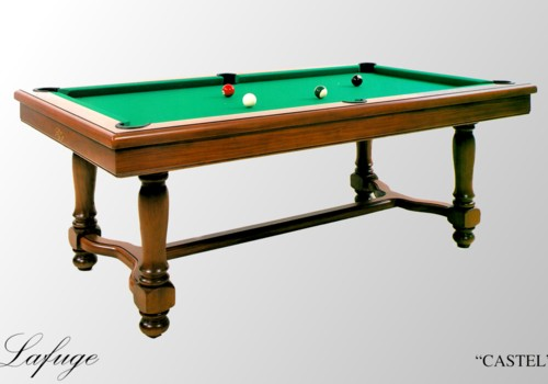 Billard de salon billard americain francais castel for Table de salle a manger et billard