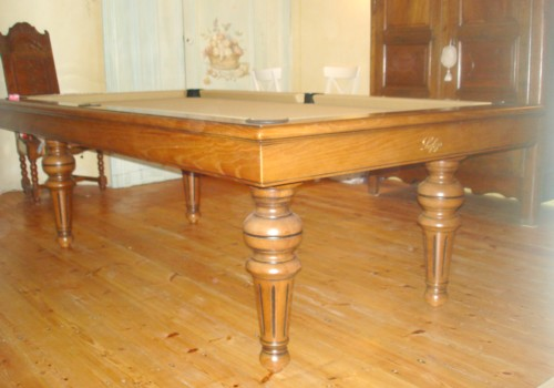 billard table  billard louis philippe chene massif