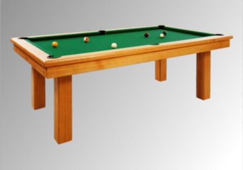 Billard francais billard pool americain loft 2m30 chene massif moyen tapis s - Table et billard a la fois ...