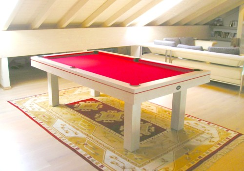 billard table billard soho m americain chene ceruse blanc. Black Bedroom Furniture Sets. Home Design Ideas