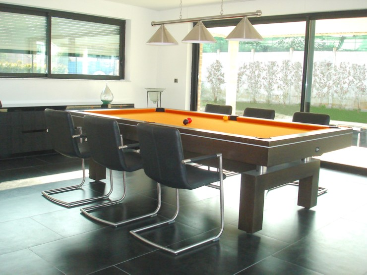 photo billard de salon billard table design arcade 2m60. Black Bedroom Furniture Sets. Home Design Ideas